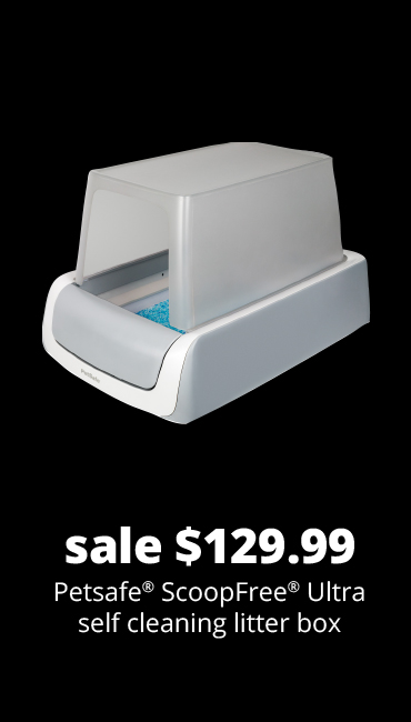 sale $129.99	Petsafe® ScoopFree® Ultra self cleaning litter box