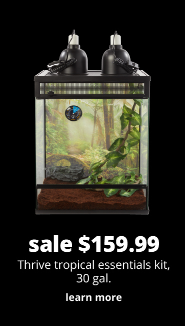 sale $159.99	Thrive tropical essentials kit, 30 gal.