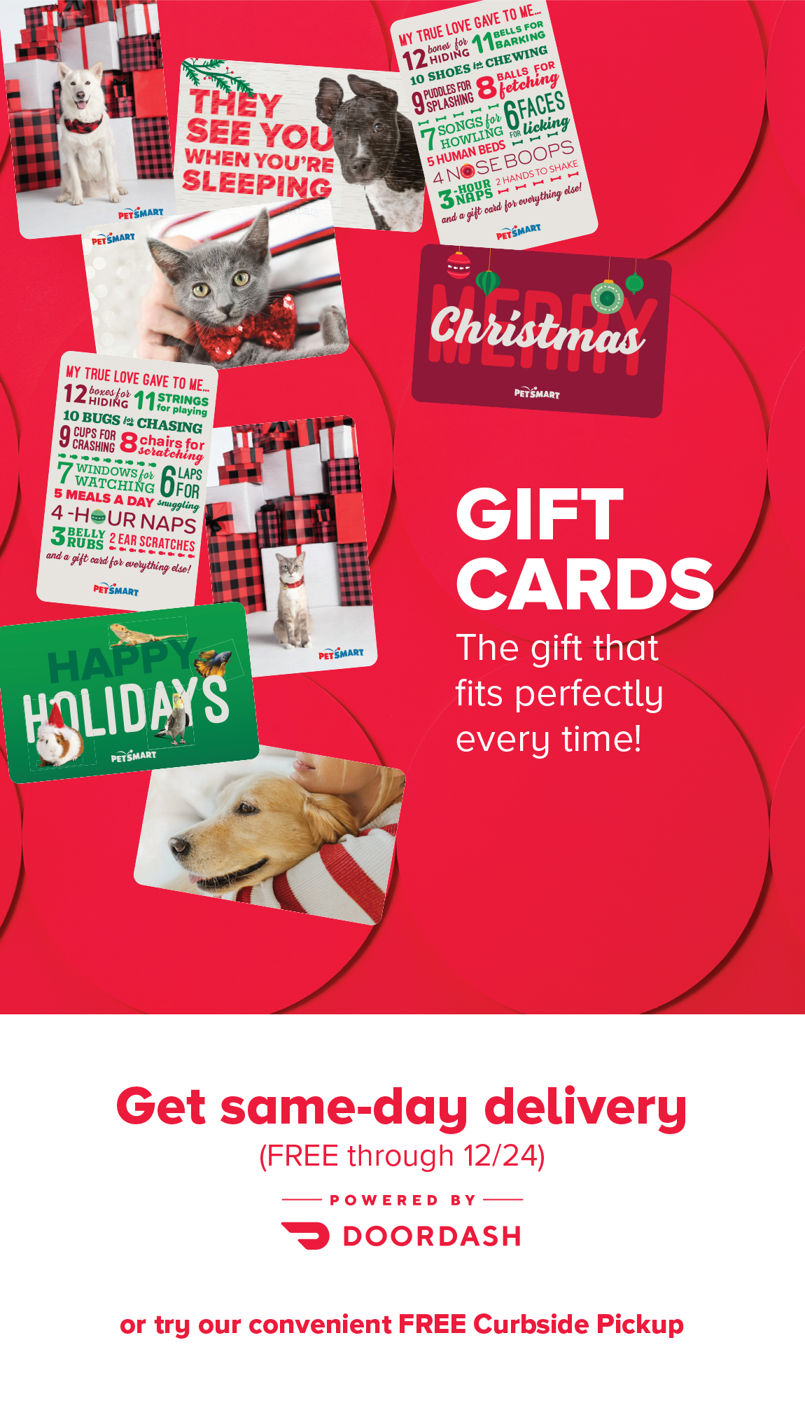 Gift Cards: The gift that fits perfectly every time