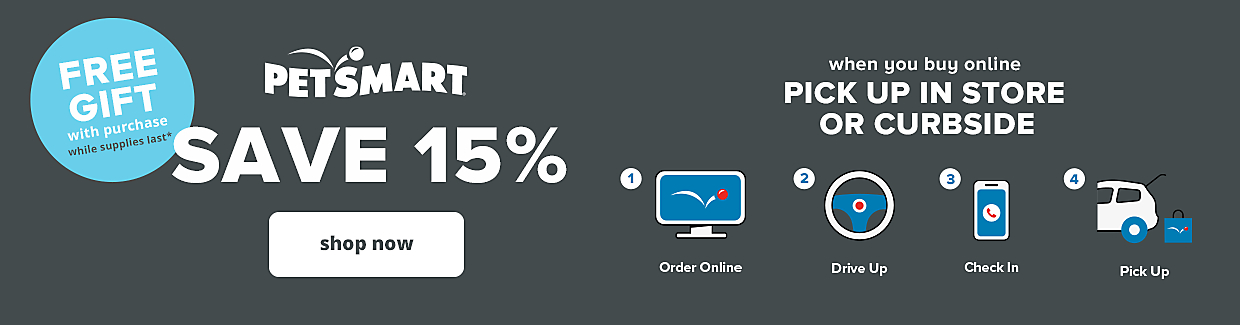 Save 15% when you buy online, pick up in store or curbside, shop now >