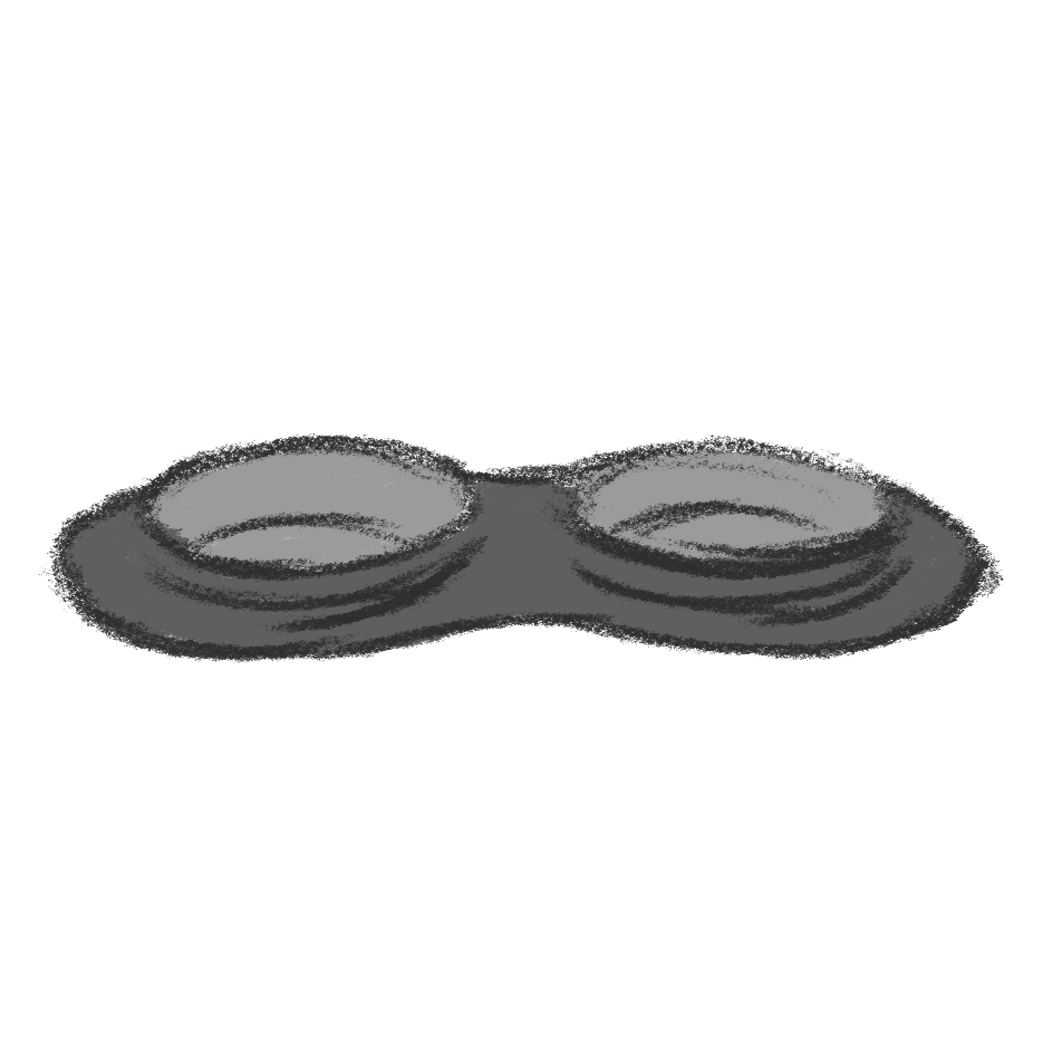 Food & Water Bowls (Illustration)