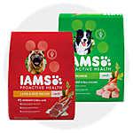 sale $40.99 select Iams® dog food, 38.5 lb. bags                                 Updated price: $41.99