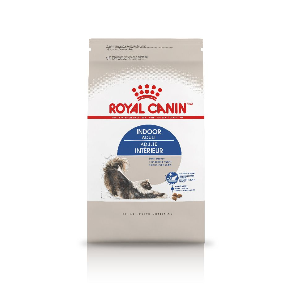 ROYAL CANIN® Indoor - Controlled calorie content adapted for an indoor cat's leisurely lifestyle