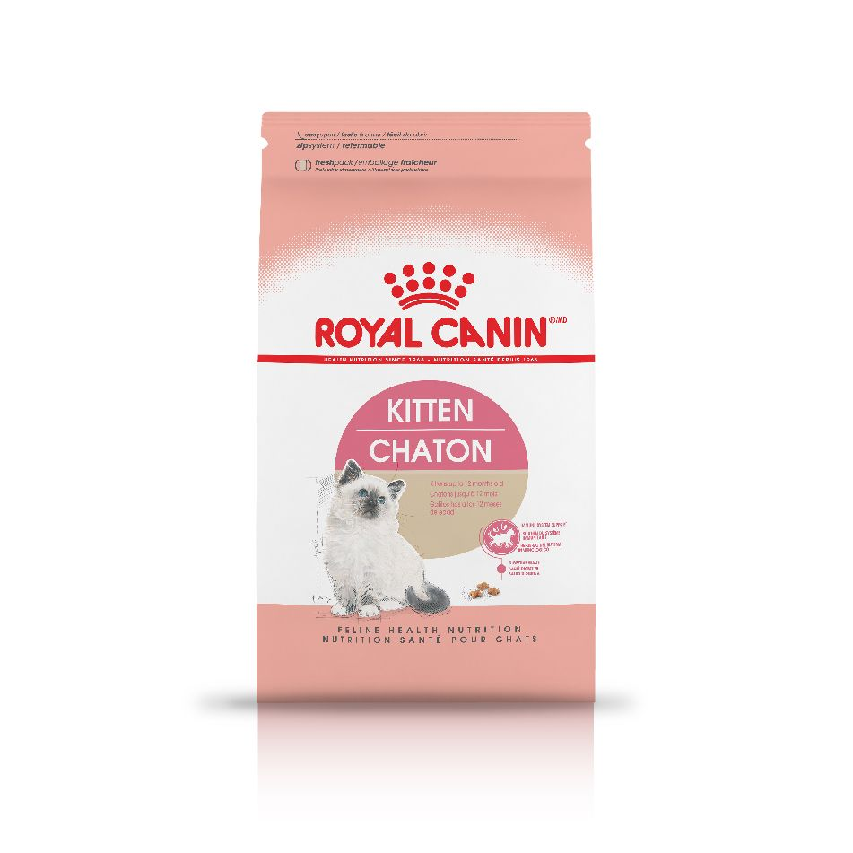 ROYAL CANIN® Kitten - Tailored nutrients to support her developing immune and digestive systems