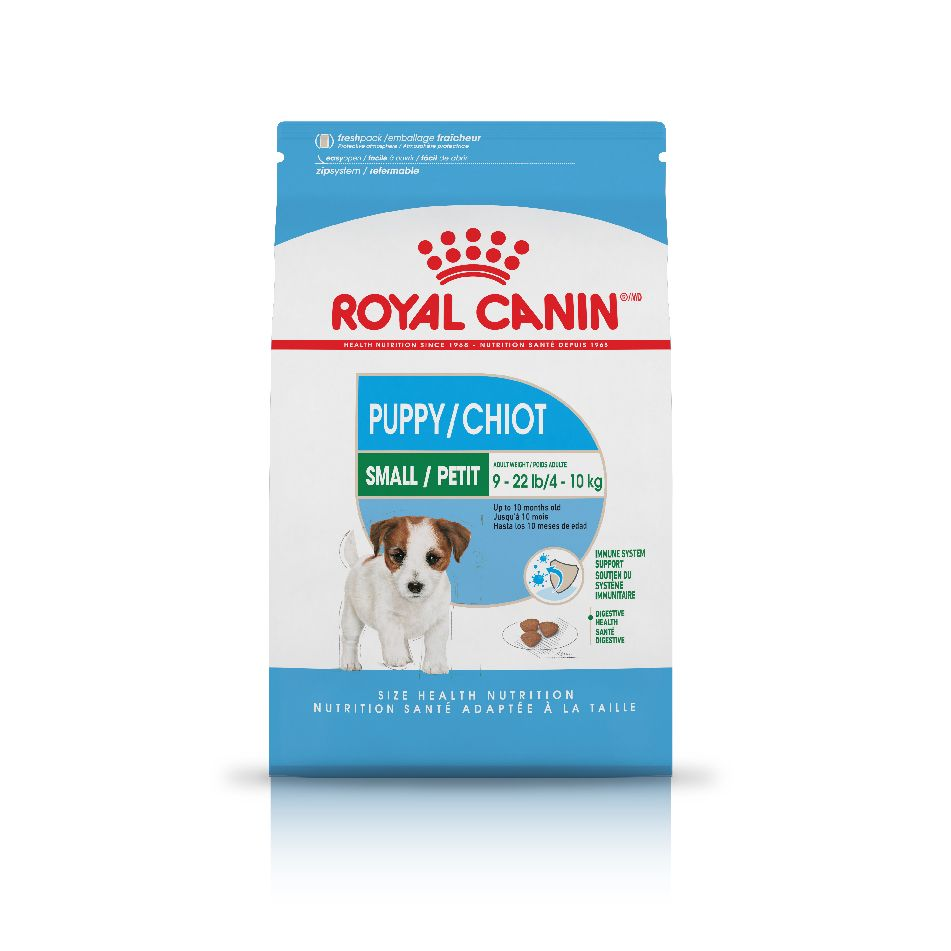 Royal Canin® Puppy: Tailored combination of nutrients to support his developing immune and digestive                         systems