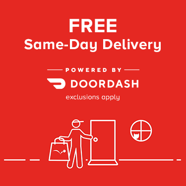 Free same day delivery. Shop pet essentials and get free delivery. Powered by DoorDash, exclusions apply.