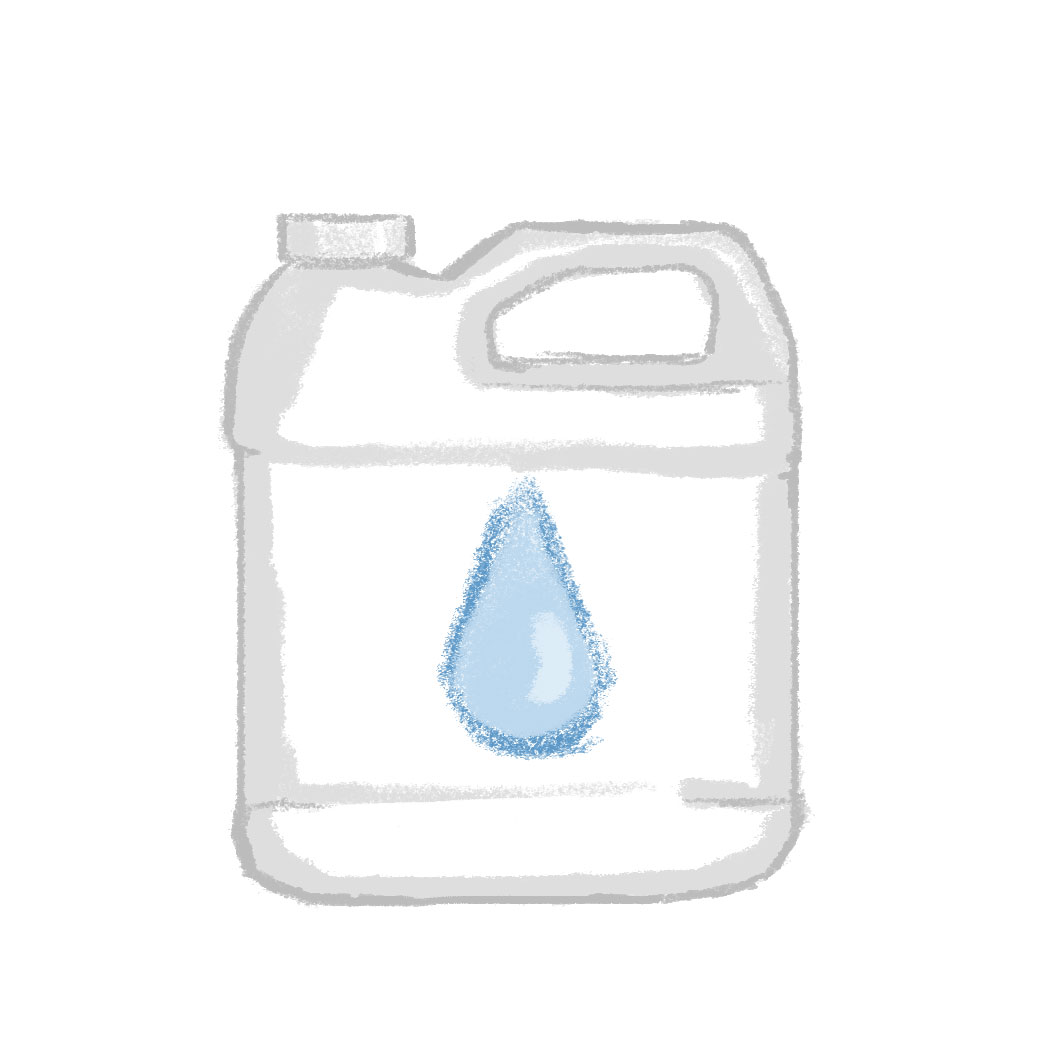 Water Care & Conditioners (Illustration)