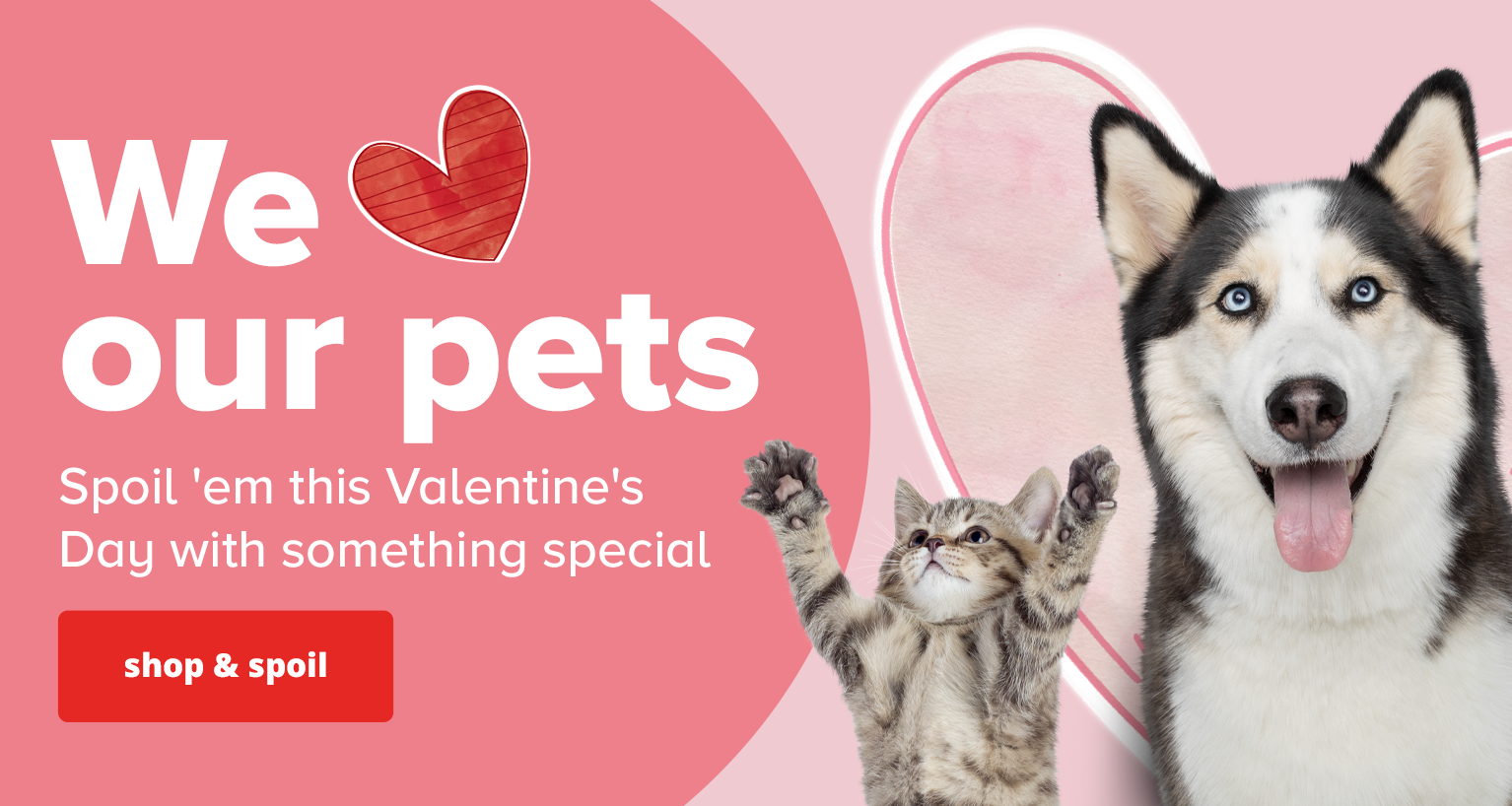 Spoil 'em this Valentine's Day with something special.