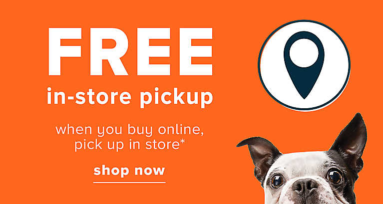 FREE in-store pickup when you buy online, pick up in store shop now >