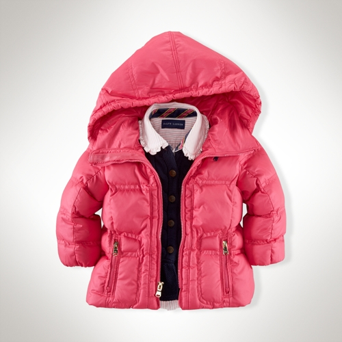 5ad9a141b Polo Ralph Lauren. Channel-Quilted Down Jacket/ ...