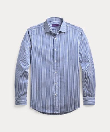 ベンガルストライプド ツイル シャツ