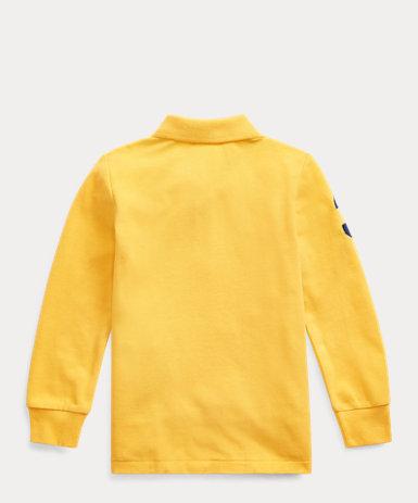 コットン メッシュ ポロシャツ