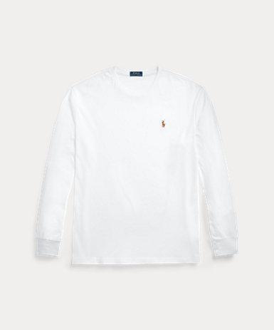 カスタム スリム ソフト コットン Tシャツ