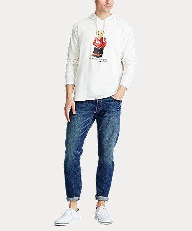 Poloベア ジャージー フーデッド Tシャツ