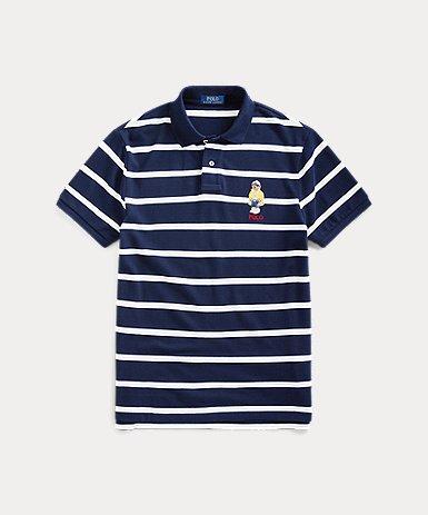 カスタム スリム CP-93 ベア ポロシャツ