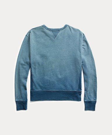 インディゴ フレンチテリー スウェットシャツ