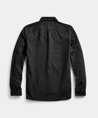 ガーメントダイド ツイル ワークシャツ