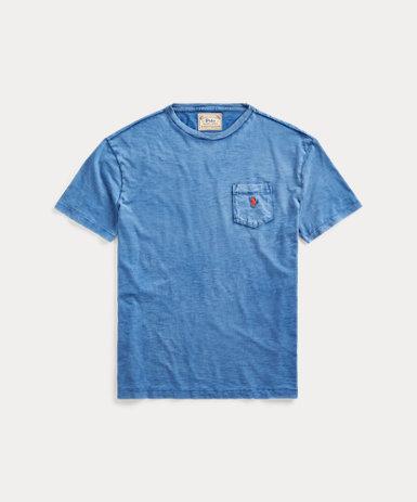 カスタム スリム フィット ポケット Tシャツ