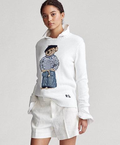 Polo ベア コットン セーター