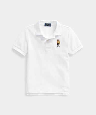 CP-93 ベア コットンメッシュ ポロシャツ