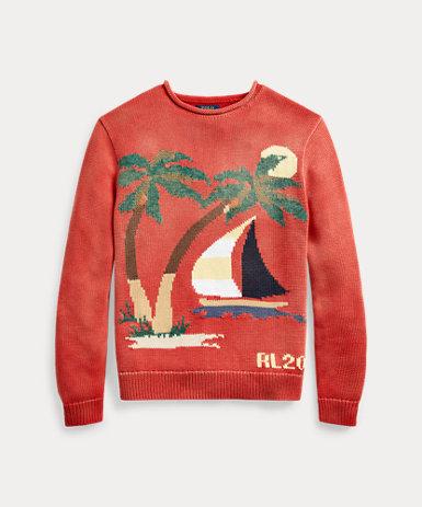 (オンライン限定) セールボート コットン セーター
