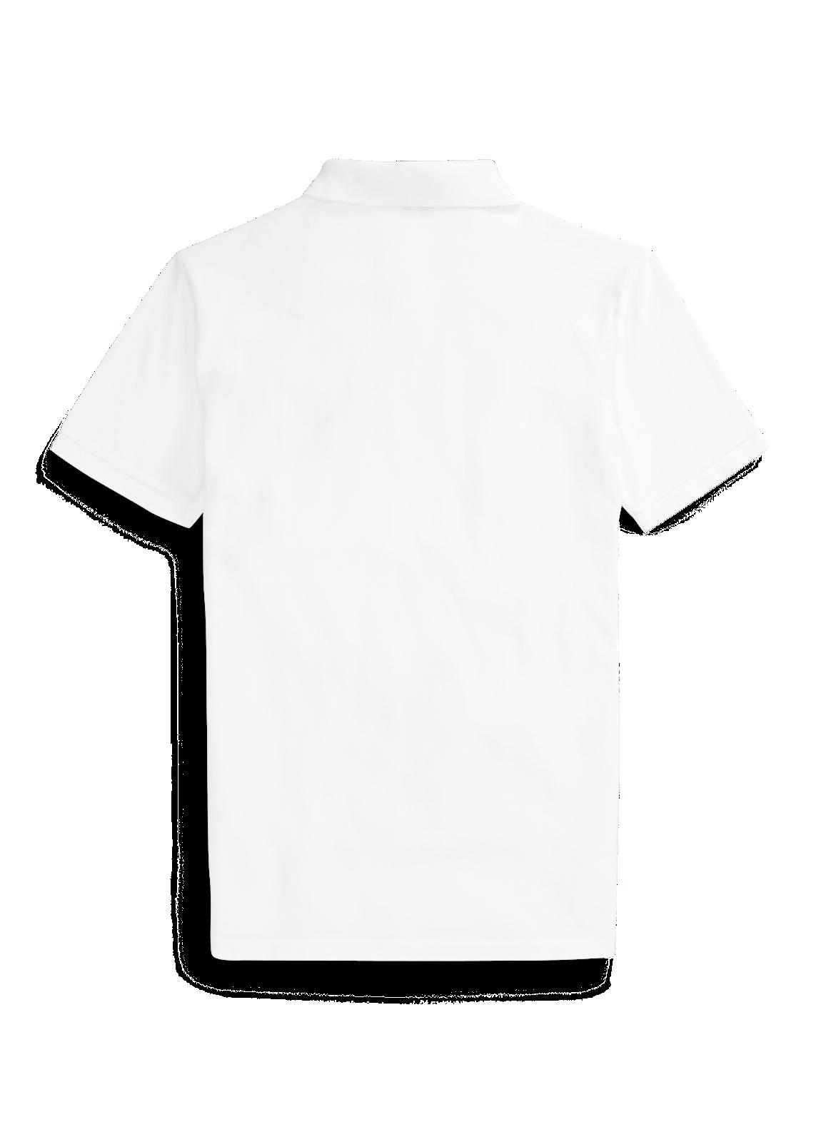 スリム フィット ビーチ ベア ポロシャツ