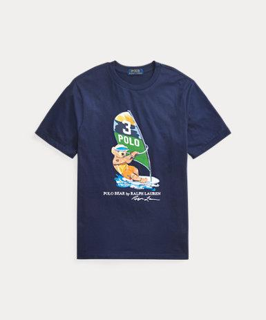 (オンライン限定)ウィンドサーフ ベア コットン Tシャツ