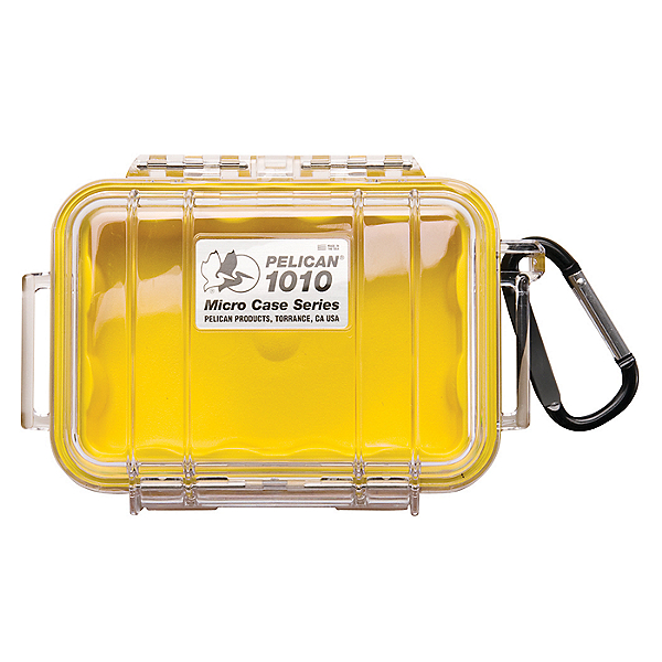 Pelican Micro Case 1010 Dry Box Yellow, Yellow, 600