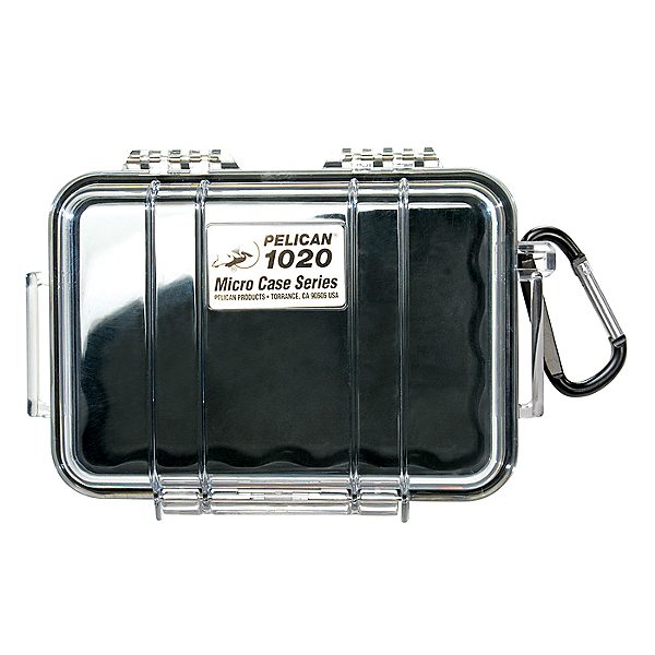 Pelican Micro Case 1020 Dry Box, Black, 600