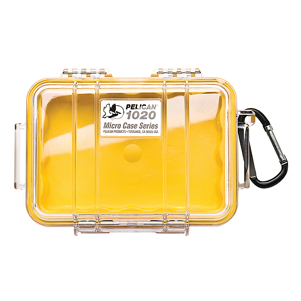 Pelican Micro Case 1020 Dry Box Yellow, Yellow, 600