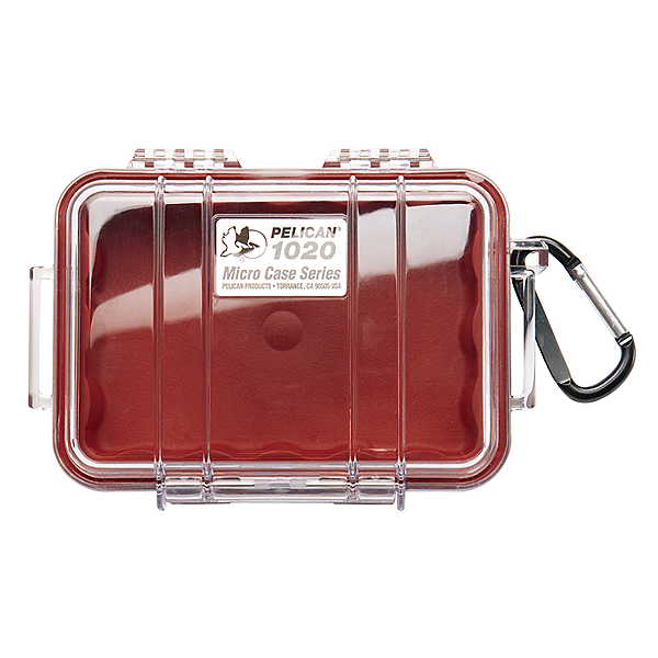 Pelican Micro Case 1020 Dry Box Red, Red, 600
