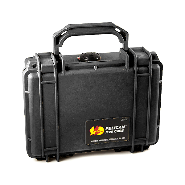 Pelican Small Case 1120 Dry Box, Black, 600