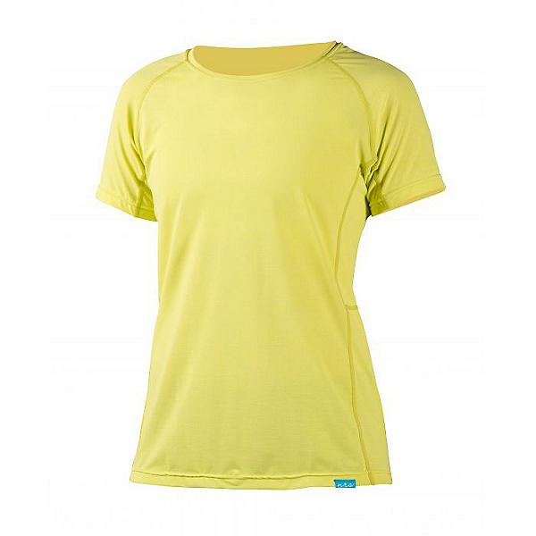 NRS H2Core Silkweight Short Sleeve Shirt -Women, Limeade, 600