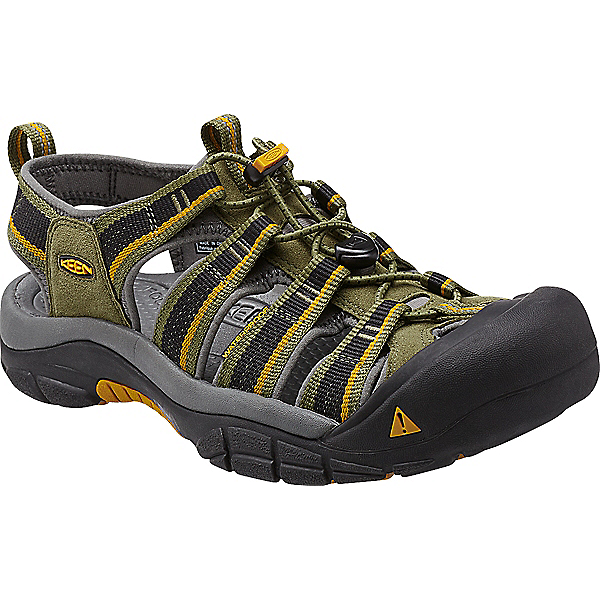 Newport H2 Sandal - Men's - 15/Burnt Olive-Golden Yellow, Burnt Olive-Golden Yellow, 600