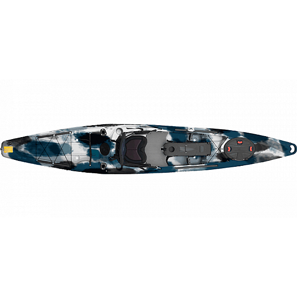 Feelfree Moken 14 Angler Kayak, Blue Camo, 600