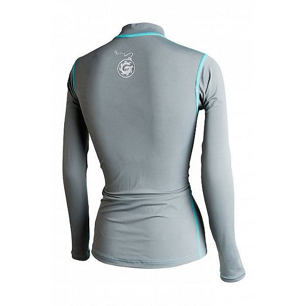 Bomber Gear Solar 50 Long Sleeve Rash Guard - Women - Discontinued, Charcoal, 600