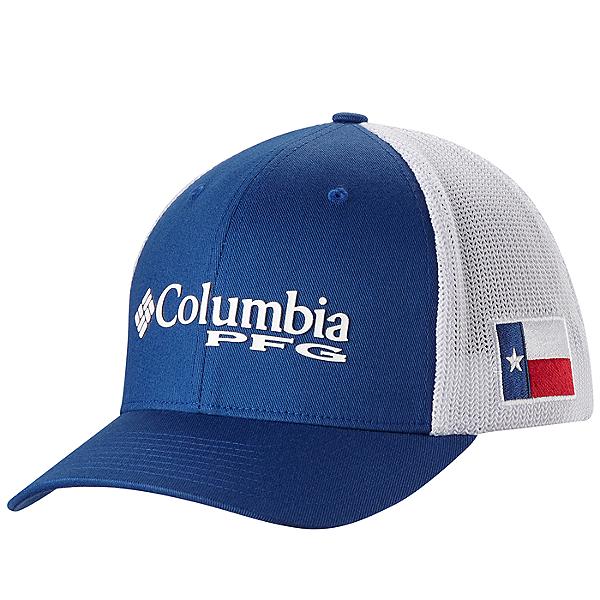 637f907cb Columbia PFG Mesh Ball Cap Texas Flag - S/M, Texas Flag, 600