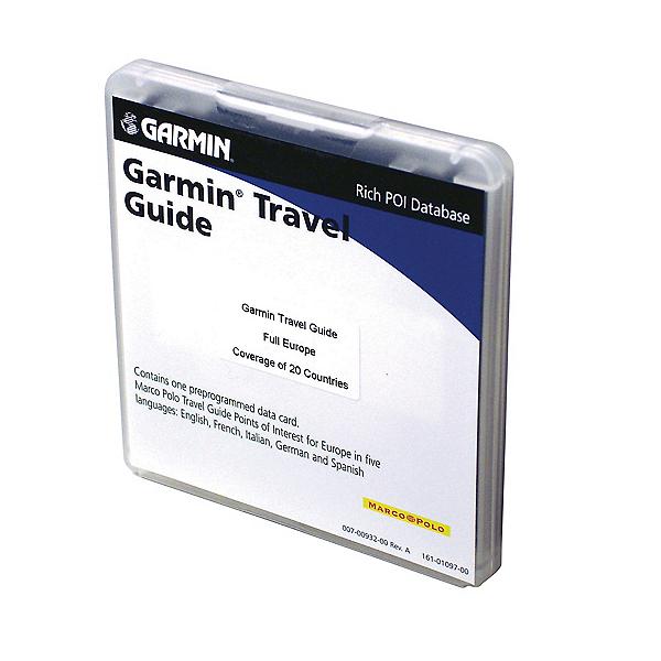 Garmin Europe Travel Guide, , 600