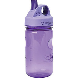Nalgene Tritan Grip N Gulp Bottle, Purple, 256