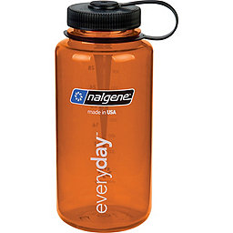 Nalgene Nalgene Tritan Wide Mouth Water Bottle - 1 L, Orange, 256