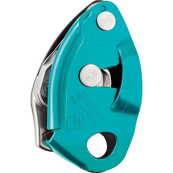 Petzl GriGri 2 Belay Device - Turquoise, Turquoise, 600