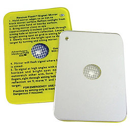 Accessories SOL Rescue Flash Signal Mirror, , 256