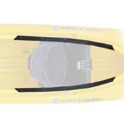 Wilderness Systems Pamlico Thigh Pad Kit - Bow, , medium