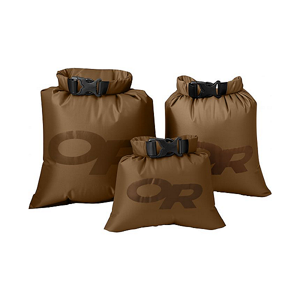 Outdoor Research Dry Ditty Sacks - 3 pack, Coyote, 600