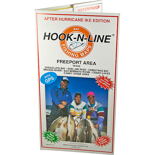 Hook-N-Line Map F127 Freeport Area Fishing Map (With GPS), , 600