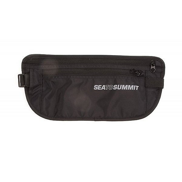 Sea to Summit Traveling Light Money Belt Black, Black, 600