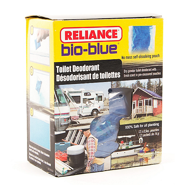 Reliance Bio-Blue Portable Toilet Deodorant - 12 pack, , 600