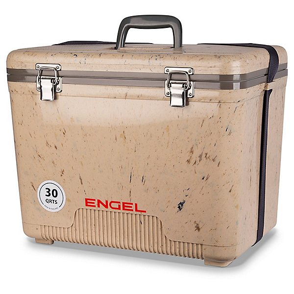 Engel 30 Quart Dry Box Cooler UC 30 - Grassland, , 600