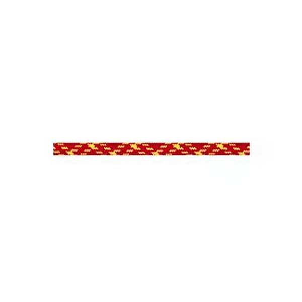 BlueWater Ropes 7.7 mm Ice Floss Twin - 60 m, Red w/ Yellow, 600