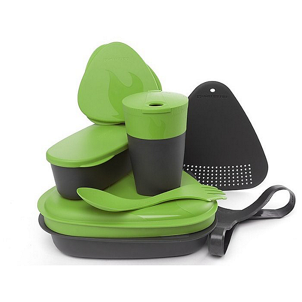 Light My Fire Outdoor Meal Kit 2.0, Green, 600